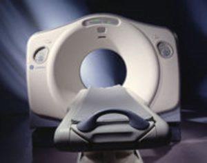 GE Lightspeed QX/I Quad CT Scanner